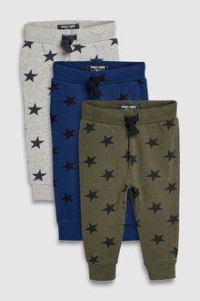 Next Stars Joggers Three Pack (3mths-6yrs)