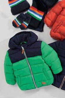 Next Colourblock Padded Jacket (3mths-6yrs)