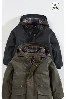 Next Waxy Cotton Coated Jacket (3mths-6yrs)