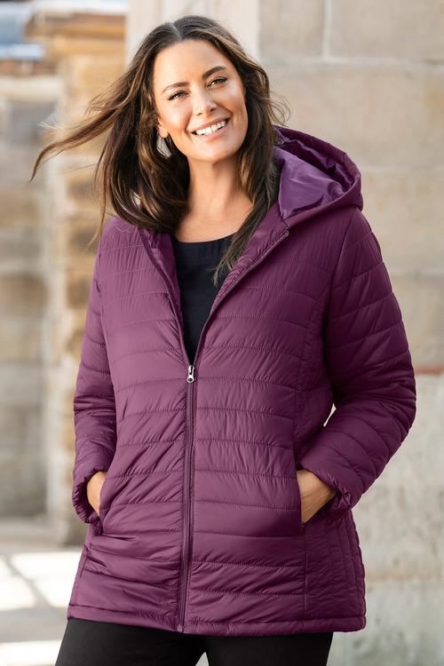 Sara Hooded Puffer Jacket
