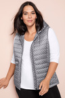 Plus Size - Sara Hooded Puffer Vest