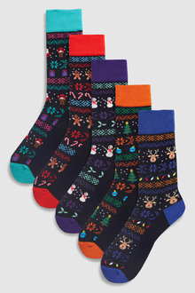 Next Character Socks Five Pack
