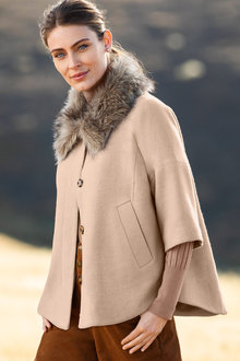 Capture Fur Collar Jacket
