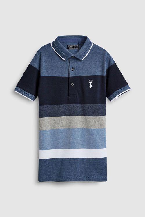 Next Striped Polo (3-16yrs)