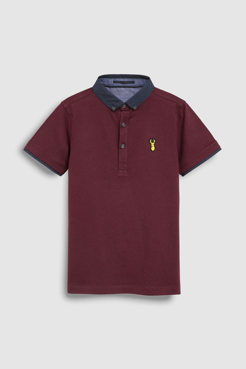 Next Smart Polo T-Shirt (3-16yrs)