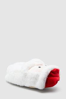 Next 3D Santa Slippers (Older)