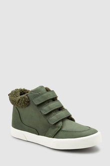 Next Warm Lined Triple Strap Boots (Older)