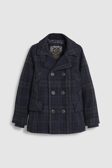 Next Check Double Breasted Coat (3-16yrs)