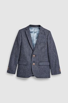 Next Netherfield Shetland Wool Suit Jacket (3-16yrs)
