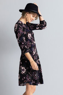 Emerge Long Sleeve Shirt Dress
