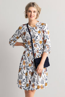 Emerge Long Sleeve Shirt Dress - 223083