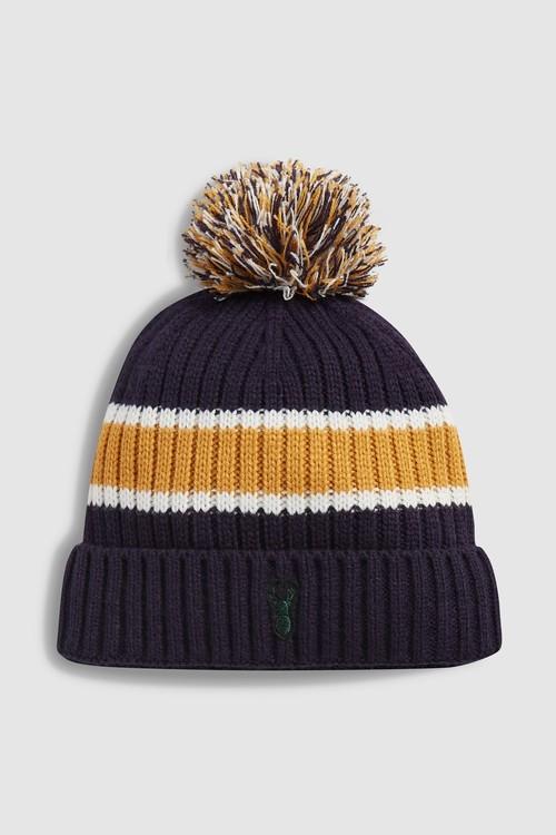 Next Block Bobble Hat