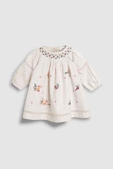 Next Embroidered Dress (0mths-2yrs)