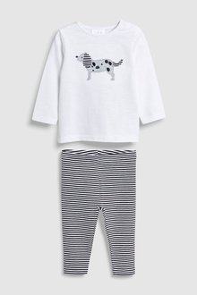 Next Dog T-Shirt And Leggings Set (0mths-2yrs)