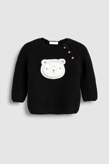 Next Bear Knit Jumper (0mths-2yrs)