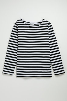 Pumpkin Patch Long Sleeve Yarn Dye Stripe Tee