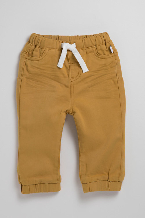 Pumpkin Patch Pull On Stretch Jeans with Tie Waist and Cuff