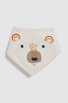 Next Woodland Character Dribble Bibs Three Pack