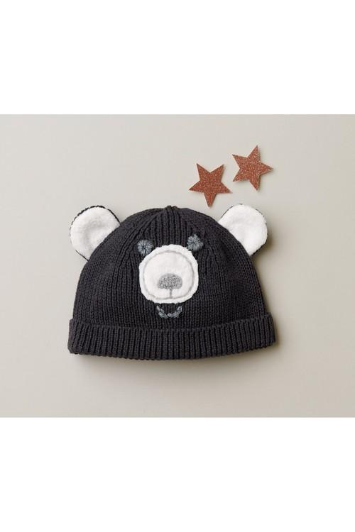 Next Bear Knit Hat (0mths-2yrs)