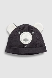 Next Bear Knit Hat (0mths-2yrs)