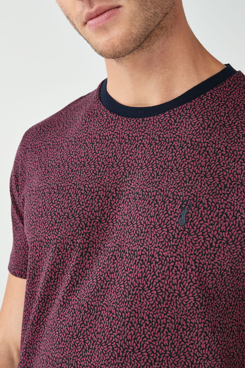 Next Small Paisley Print T-Shirt