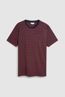Next Small Paisley Print T-Shirt