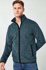 Next Fabric Interest Zip Through Fleece