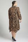 Plus Size - Sara Animal Print Dress