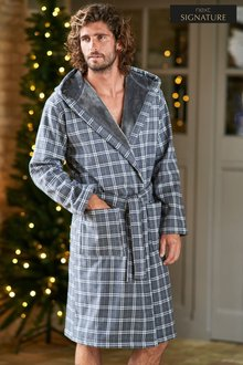 Next Signature Fleece Bonded Robe