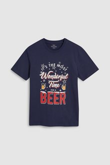 Next Wonderful Time For A Beer T-Shirt