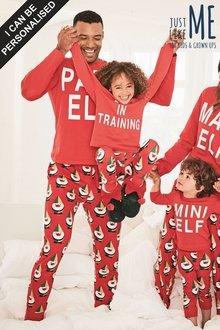 Next Just Like Me Papa Elf Cuffed Pyjamas