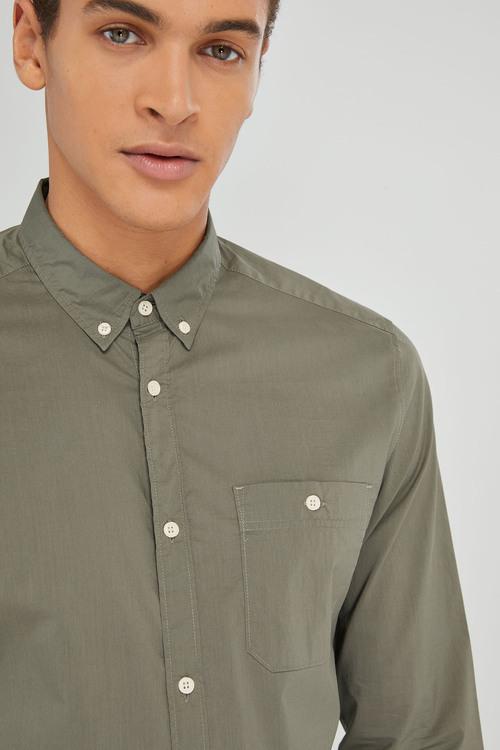 Next Poplin Long Sleeve Shirt