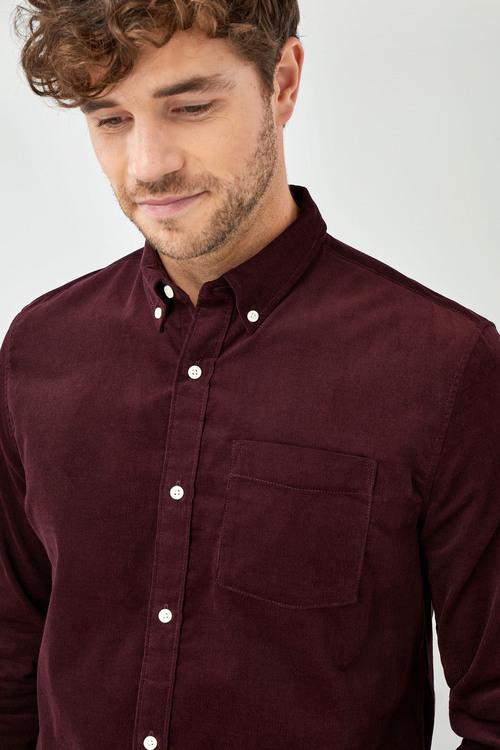 Next Long Sleeve Cord Shirt