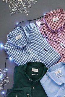 Next Long Sleeve Mini Check Shirt