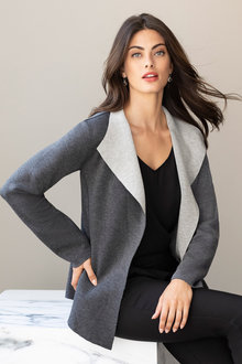 Grace Hill Two Tone Jacket