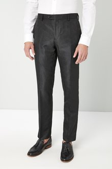 Next Slim Fit Paisley Jacquard Suit: Trousers