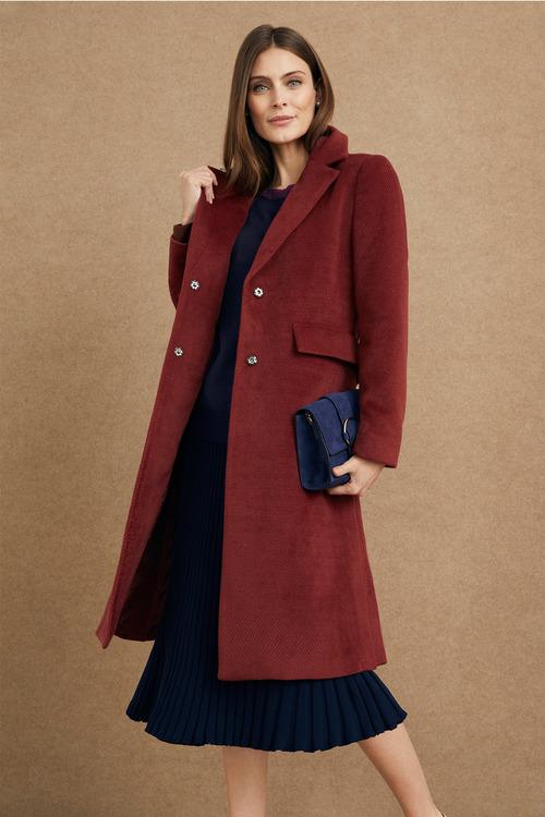 Grace Hill Luxe Twill Coat
