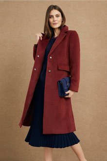 Grace Hill Luxe Twill Coat - 223331
