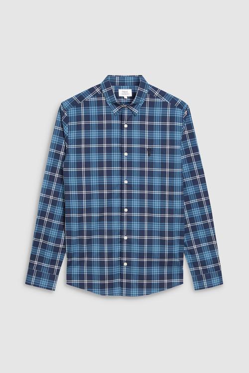 Next Long Sleeve Tartan Check Shirt