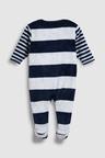 Next Stripe Fleece Sleepsuit (0mths-3yrs)