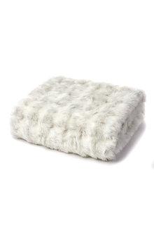 Ascot Faux Fur Throw