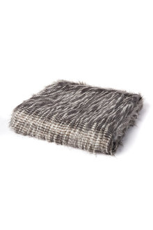 Ascot Faux Fur Throw
