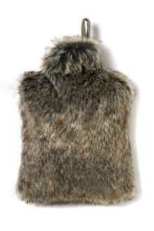 Ascot Faux Fur Hot Water Bottle Cover