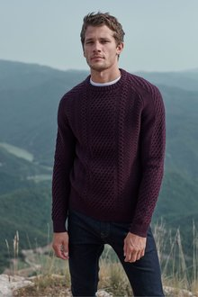Next Luxury Cable Knitted Jumper