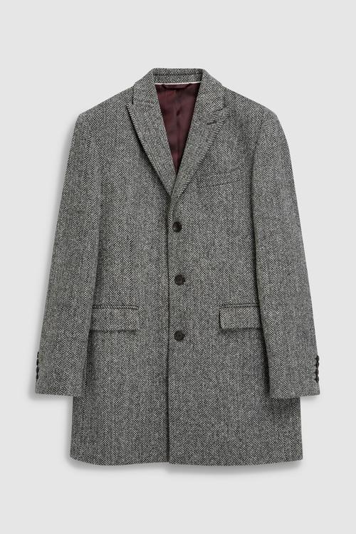 Next Signature Harris Tweed Epsom Coat
