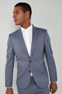 Next Stretch Twill Suit: Jacket - Slim Fit