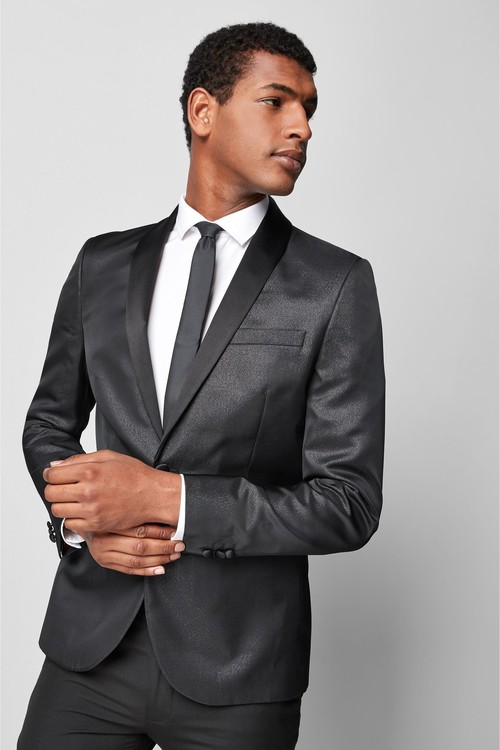 Next Metallic Skinny Fit Dinner Jacket
