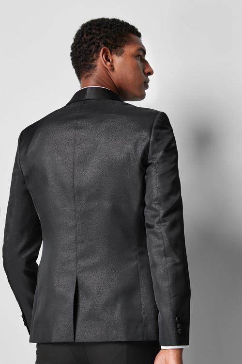 Next Metallic Skinny Fit Dinner Jacket