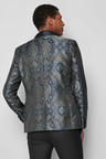 Next Tapestry Pattern Jacquard Skinny Fit Jacket