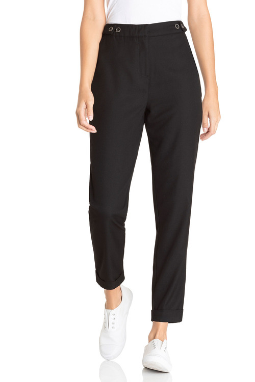 Emerge Tapered Button Detail Pant